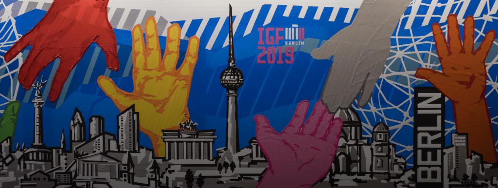 IGF 2019 Berlin mural