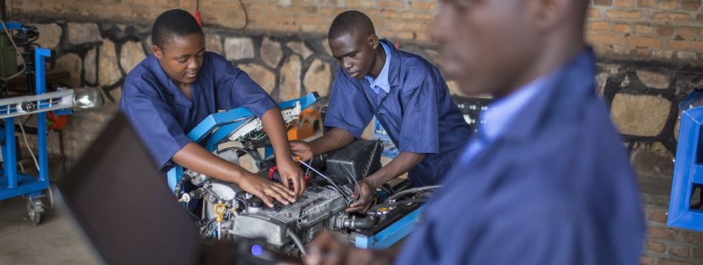 Rwandan Vocational School