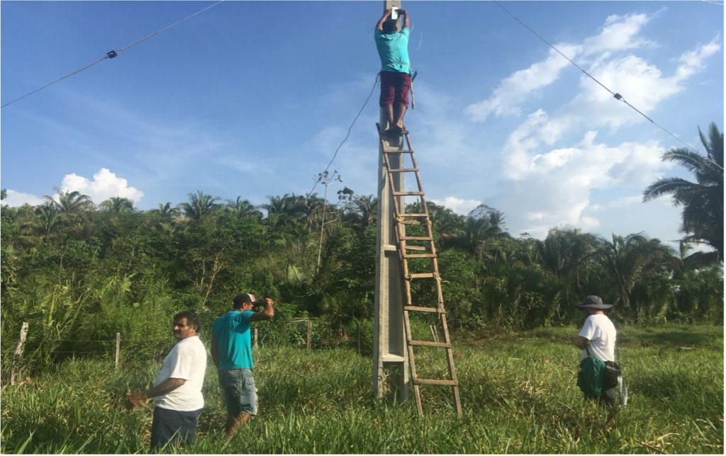 A team building community networks in rural Brazil